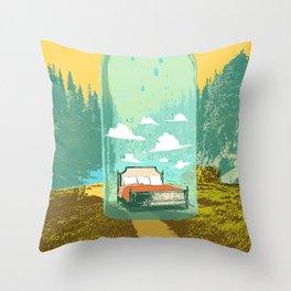DREAM BOTTLE Throw Pillow