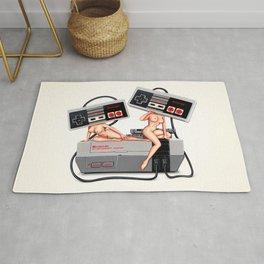 Video Game Pin-ups  Rug