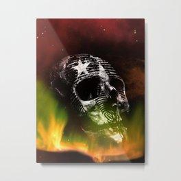 No More Lies Metal Print