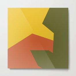 Minimalism Abstract Colors #6 Metal Print