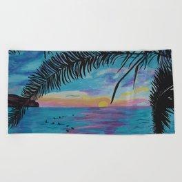 The Beach Beach Towel