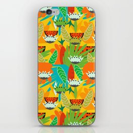 Watermelons and carrots iPhone Skin