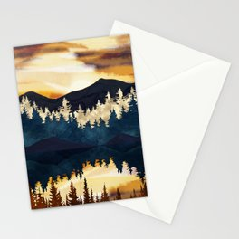 Fall Sunset Stationery Cards