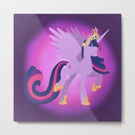 Princess Twilight Sparkle Metal Print