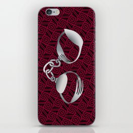 Cutlery Handcuffs iPhone Skin