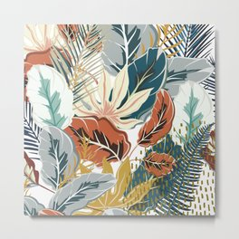 Tropical Wild Jungle Metal Print