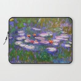 Claude Monet, Waterlilies, oil on canvas. Laptop Sleeve