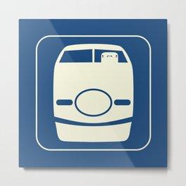 Shinkansen Metal Print