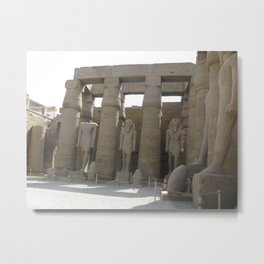 Temple of Luxor, no. 4 Metal Print