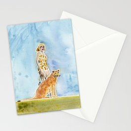 MAN-EATER Stationery Cards