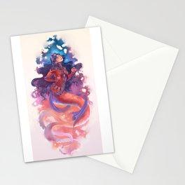 iPersian mermaid princes Stationery Cards