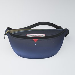 You are here: Cassini, Pale Blue Dot Fanny Pack