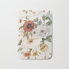 Wildflower Bouquet Bath Mat