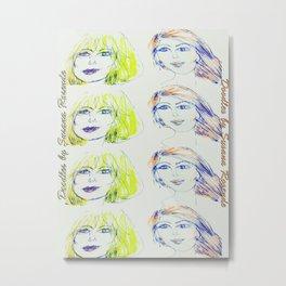 Blondie and Ginger Metal Print