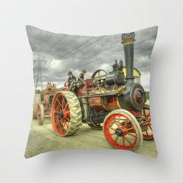 Royal Chester at Norton Fitzwarren Throw Pillow
