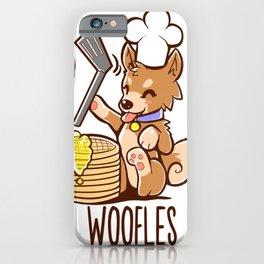 Im Making Woofles iPhone Case