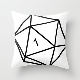 Fumble - Dungeons & Dragons for Dummies Throw Pillow