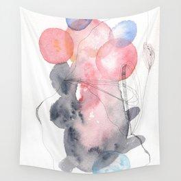 Scandi Micron Art Design | 170412 Telomere Healing 35 Wall Tapestry