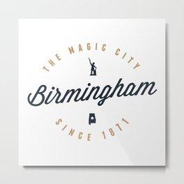 Birmingham, Alabama - The Magic City Metal Print