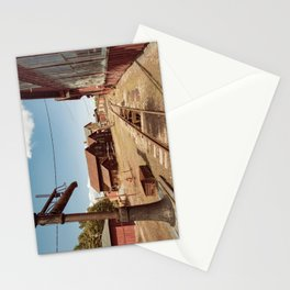 Siding Leading to Roundhouse Past Machine Shop East Broad Top Pennsylvania Stationery Cards