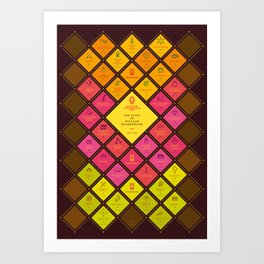 The Plays of William Shakespeare Art Print