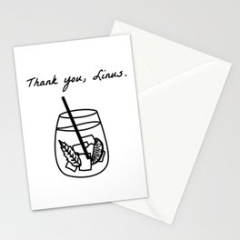 Thank You, Linus. (How I Met Your Mother) Stationery Cards
