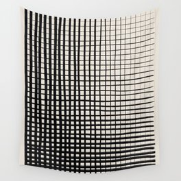 Horizontal & Vertical Lines Wall Tapestry