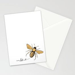 Let it Bee Stationery Cards