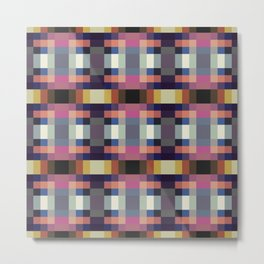 Sylvan - Colorful Decorative Abstract Art Pattern Metal Print