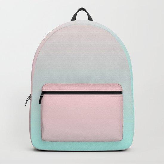 Pastel Ombre Millennial Pink Mint Gradient by cutepatternstextures