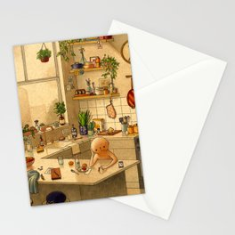 Kitchen Counter Stationery Cards