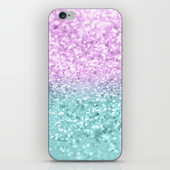Mermaid Girls Glitter #2 #shiny #decor #art #society6 iPhone Skin