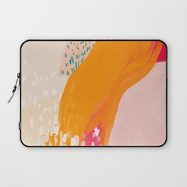 The Abstract Shape Of Spring Laptop Sleeve