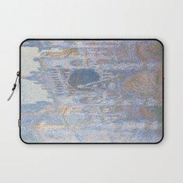 Monet, Rouen Cathedral Series, west facede (La Cathédrale de Rouen) Laptop Sleeve