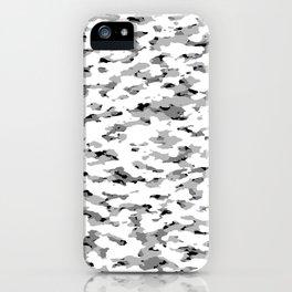 Camouflage: Alpine VI iPhone Case