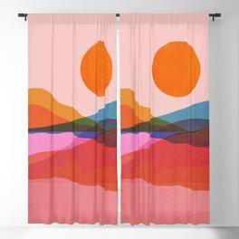 Abstraction_OCEAN_Beach_Minimalism_001 Blackout Curtain
