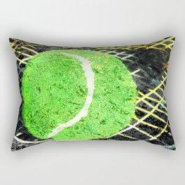 Tennis art print work 18 Rectangular Pillow