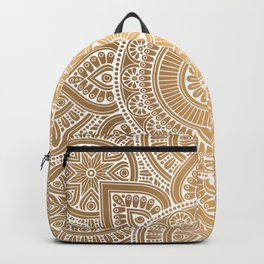 Gold Mandala 3 Backpack