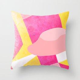 Oops - Urban Ufo Sighting Pop Art Throw Pillow