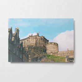 Edinburgh Castle Scotland Metal Print