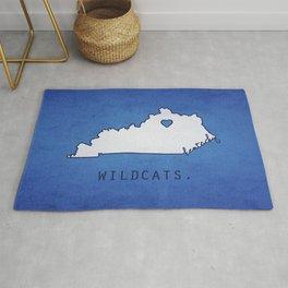 Kentucky Wildcats Rug