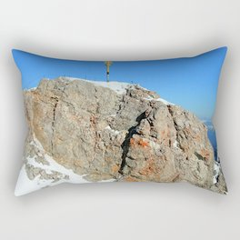 Zugspitze Summit Germany Rectangular Pillow