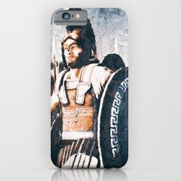 Ancient Greek Hoplite iPhone Case