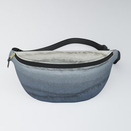 WITHIN THE TIDES - CRUSHING WAVES BLUE Fanny Pack