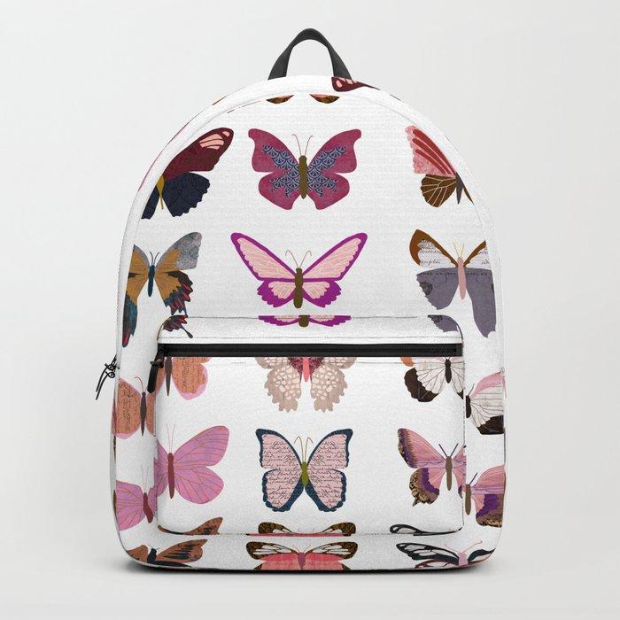 Pink Butterflies Rucksack