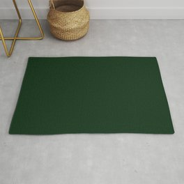 Simply Tree Green Color Rug