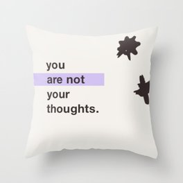 Depression Throw Pillow