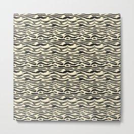 ZEBRONE Metal Print