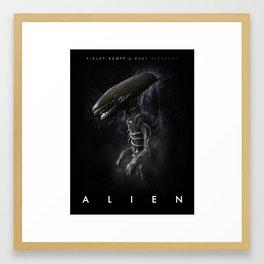 Alien 'Polymer Poster' Framed Art Print