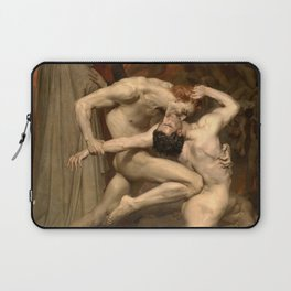 Dante and Virgil in Hell Laptop Sleeve